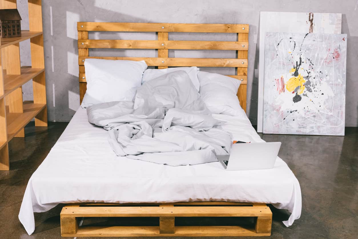 Buy Wood Pallet Single Bed Get Real Quotations For Wooden Furniture